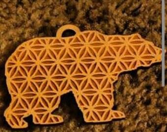 Sacred bear pendant