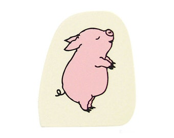 Kododmo No Kao Piggy Rubber Stamp(G)