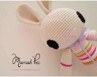Cute Crochet Bunny, Baby Gift, Baby Shower, Amigurumi, Cuddle toys