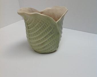 Vintage 1947 Red Wing Pottery Lettuce Planter Vase