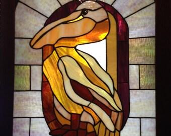 Pelican Perching
