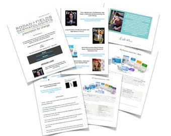 Rodan + Fields Personalized More Information Email Set Up