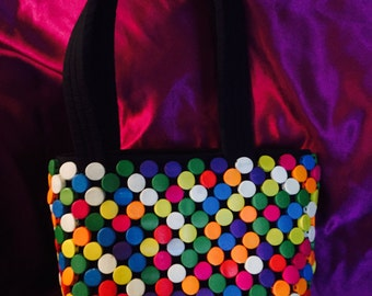 Funky retro purse