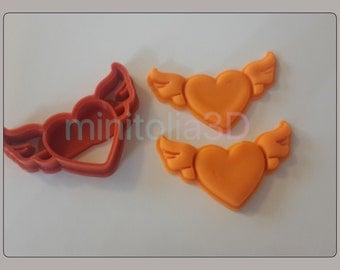 Valentine's Day Heart Cookie Cutter