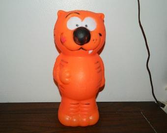 Vintage Heathcliff Blow Mold Bank