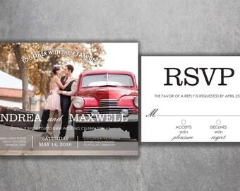 Wedding Reception Invite Post Wedding Celebration Save The