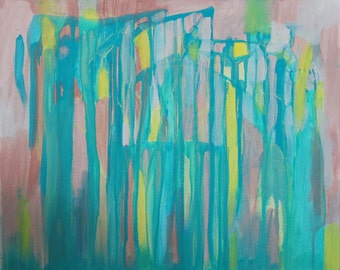 Abstract Acrylic Art [ORIGINAL], made by Charlie Albright from blog Moments by Charlie