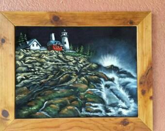 Pemaquid Lighthouse, Black Velvet