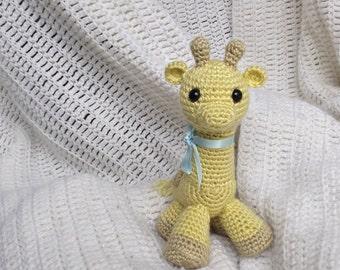 Crochet Giraffe, plushie, photography prop