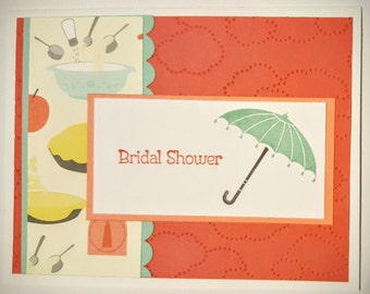 Handmade Stamped Card