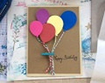 Birthday Cards with Balloons (2)