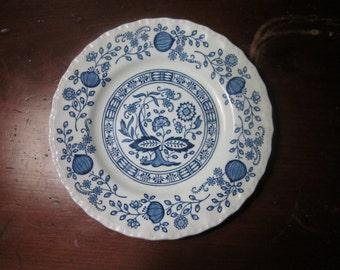 Enock Wedgewood (Tunstall) Blue Heritage Pattern