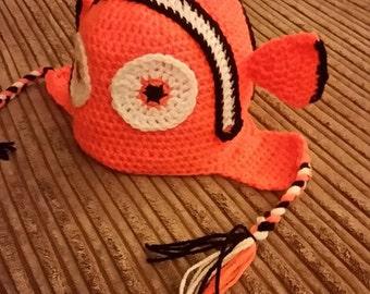 Finding Nemo Crochet Hat