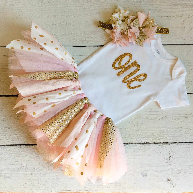 Pink And Gold Princess 1st Birthday Party Fresh Pink And: Pink And Gold Tutu Pink And Gold Fabric Tutu Pink Tutu Cake