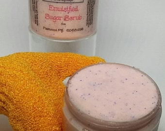 Emulsified Sugar Scrub 4oz