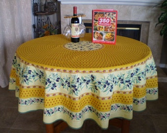 70 Inch Round Tablecloth Etsy