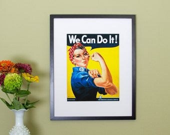 We Can Do It, Rosie the Riveter Poster - Vintage Poster Reproduction