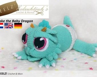 Drake the Baby Dragon - Crochet Pattern