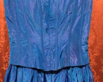 Jessica McClintock Formal Prom Dress Size 3/4 Vintage