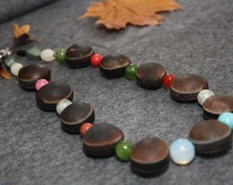 Seed semiprecious stones
