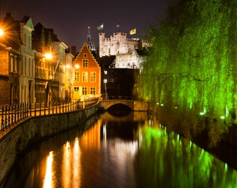 Historical Ghent by night (digital download)