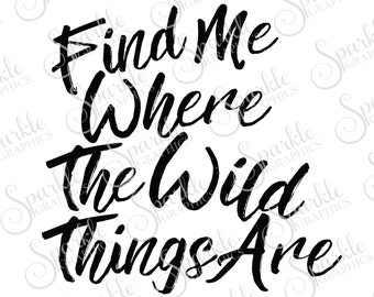 Where the wild things are – Etsy CA