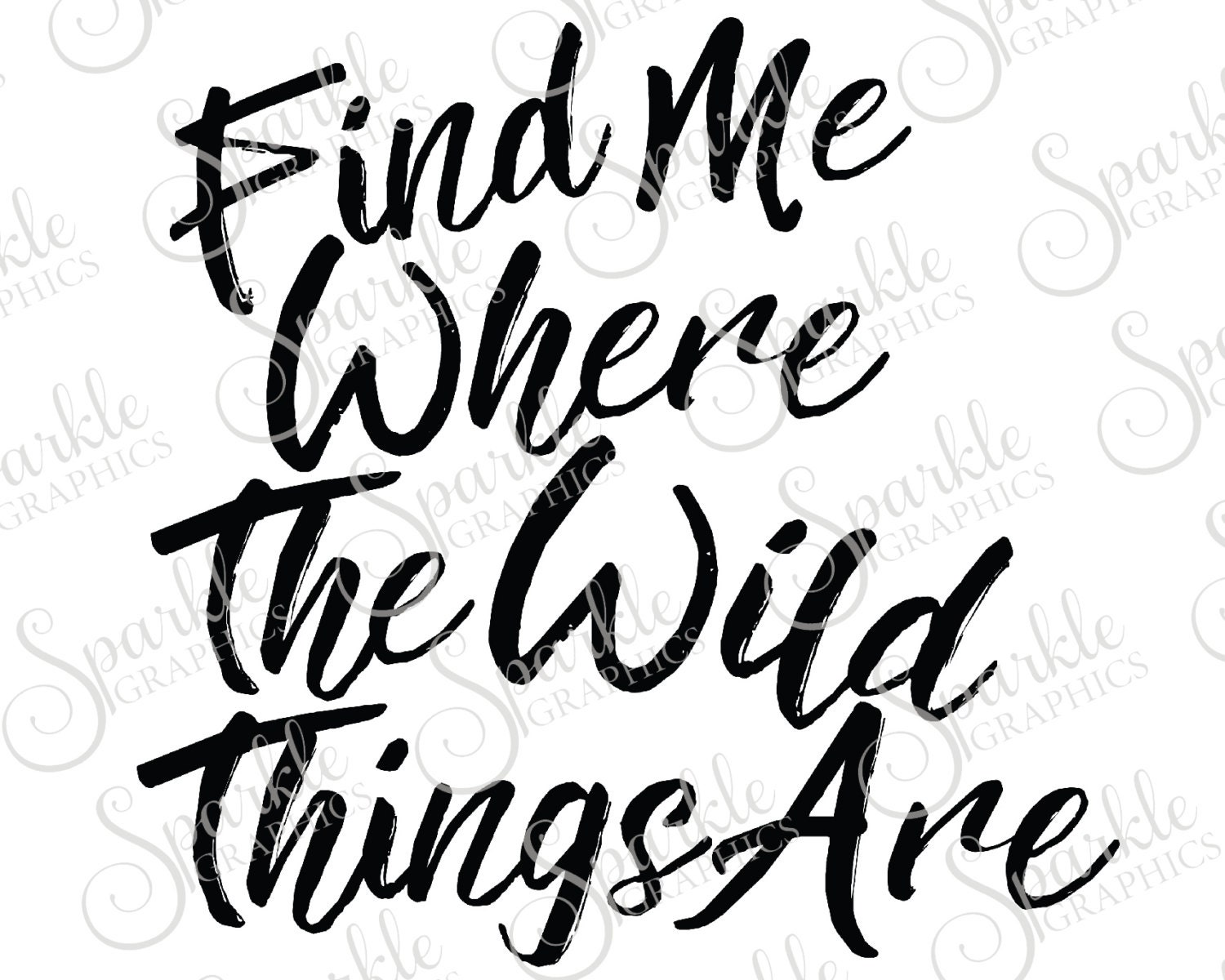 Find me where the wild things are cut file wild boho for Where the wild things are black and white coloring pages