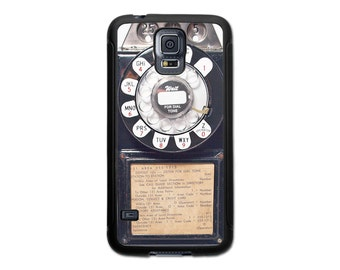 Retro Vintage Payphone Samsung Galaxy S6, S6 Edge, S5, S4, S3, Note 3, 4 and 5 Case