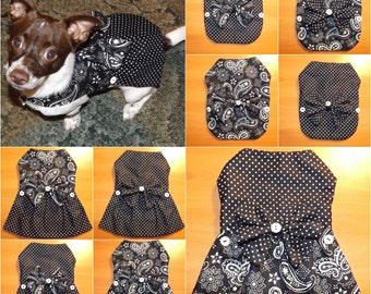 Black & White 12-in-1 Pet Outfit