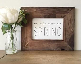 Welcome Spring Print - Digital Download