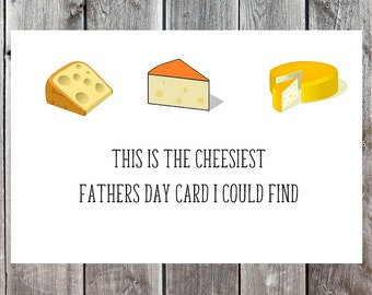 Funny Fathers Day Card, Father's Day Card, Happy Fathers Day, Cards for Fathers, Cards for Dad, Dad Cards, Hilarious Fathers Day, Cheesy
