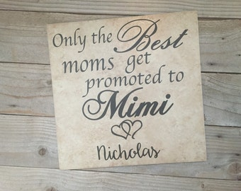Grandma Gift, Grandparents Gifts, Gifts for Grandma, Gifts for Mom, Grandma, Name Sign, Grandmother, Grandmother gift, Family Name