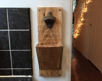 Recycled Wooden Bottle Opener