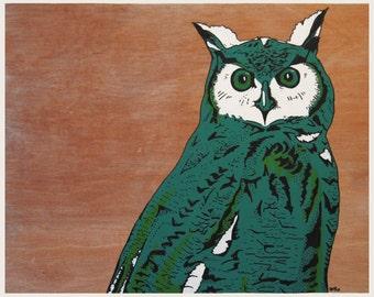 O Owl - Original painting