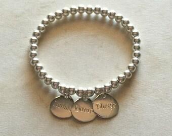 Custom bracelet. Colette