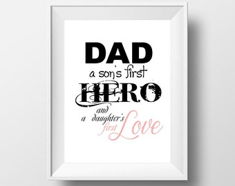 Father's day print, Happy father's day, Dad printable, Fathers day printable, Gift for dad, Gold, Fathers day card Father's day gift Digital