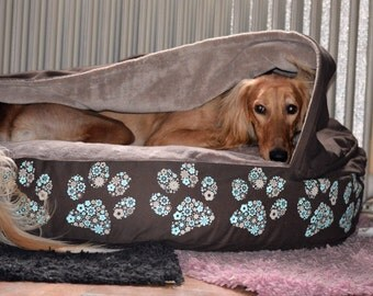 Dog bed - customizable cave bed