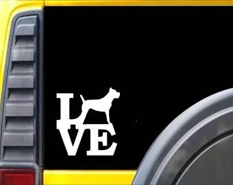 Cane Corso Love Window Decal Sticker *I963*