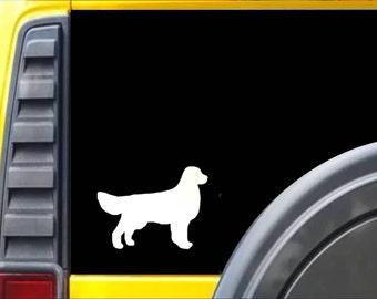 Golden Retreiver Dog Decal Sticker *J582*