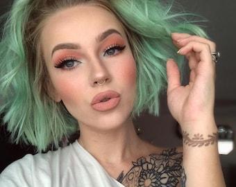 Mint Green Hair Chalk - Salon Grade - Temporary - Non-Toxic