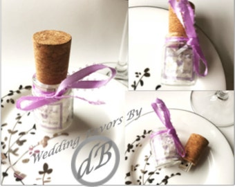 Wedding Favor Message in  Bottle Cork Flash Drives! 4GB, load your media, flash drive personalized with your colors and your photo.
