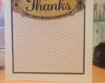 Sincere Thanks & With Gratitude Card Combo