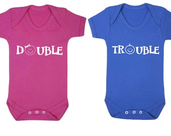 Double Trouble Twins Bodysuit Package