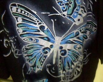 Butterfly t-shirt sz m