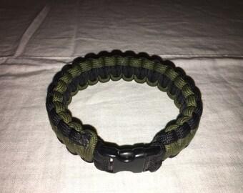 Cobra Braid Paracord Bracelet - 2 Color
