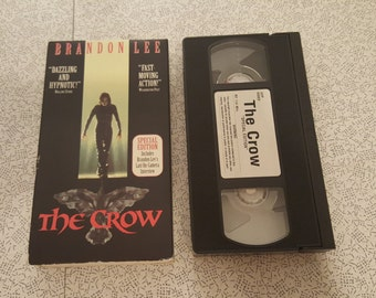 The Crow -VHS- Brandon Lee - Special Edition