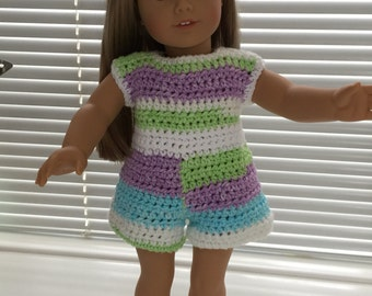 American Girl Doll Short Outfit