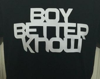 Boy Better Know signature shirt JME Skepta BBK Grime Hip Hop South London Black Custom S-XXL