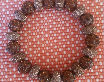 Bronze and Brown Beaded