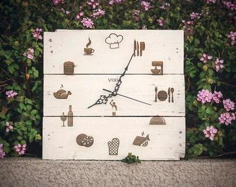 Chef Clock | Handmade